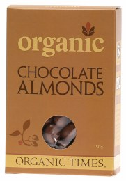 Chocolate Almonds Milk Chocolate 150gm