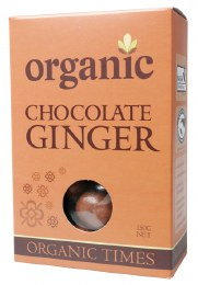 Chocolate Ginger Milk Chocolate 150gm