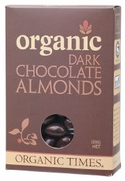 Chocolate Almonds Dark Chocolate 150gm