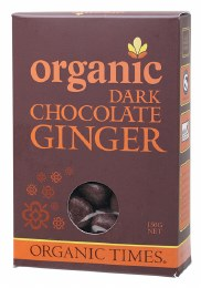 Chocolate Ginger Dark Chocolate 150gm