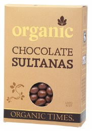 Chocolate Sultanas Milk Chocolate 150gm
