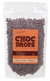Choc Drops Milk Chocolate Couverture Drops 500gm