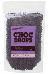 Choc Drops Dark Chocolate Couverture Drops 500gm