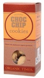 Cookies (Organic) Choc Chip 150gm