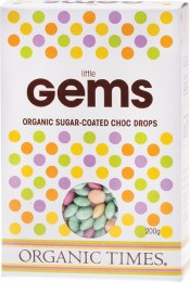 Chocolate (Organic) Little Gems 200gm