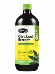 Olive Leaf Extract Peppermint (Medi Olive 66) Large 1L