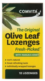 Olive Leaf Extract With Manuka Honey 12 Lozenges