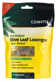 Olive Leaf Extract With Manuka Honey 40 Lozenges