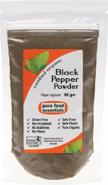 Spices Black Pepper Powder 80gm