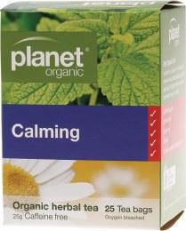 Herbal Tea Bags Calming 25 Bags