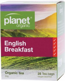 Herbal Tea Bags English Breakfast 25 Bags