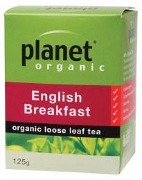 Herbal Loose Leaf Tea English Breakfast 125gm