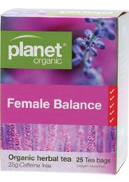 Herbal Tea Bags Female Balance 25 Bags