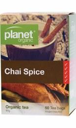 Herbal Tea Bags Chai Spice 50 Bags