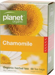 Herbal Tea Bags Chamomile 50 Bags