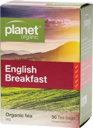 Herbal Tea Bags English Breakfast 50 Bags