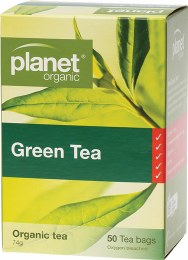 Herbal Tea Bags Green Tea 50 Bags
