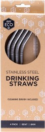 Stainless Steel Straws - Bent 4