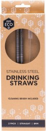Stainless Steel Straws - Straight 2