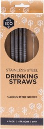 Stainless Steel Straws - Straight 4