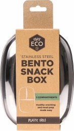 Stainless Steel Bento Snack Box 3 Compartments 1