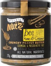 Peanut Butter Crunchy - Honey and Cinnamon 270gm