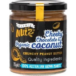 Peanut Butter Crunchy - Chocolate and Coconut 270gm