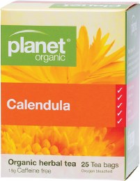 Herbal Tea Bags Calendula 25