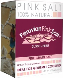 Peruvian Pink Salt Fine 600gm