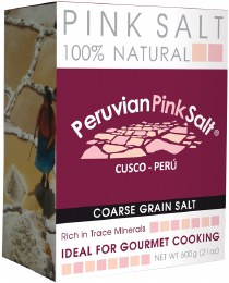 Peruvian Pink Salt Coarse 600gm
