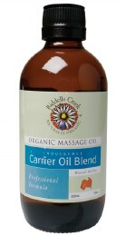 Massage Oil Carrier Oil Blend 200ml