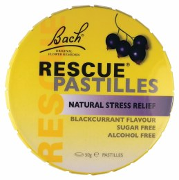Rescue Pastilles Blackcurrant 50gm