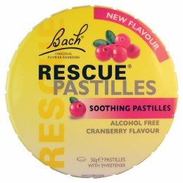 Rescue Pastilles Cranberry 50gm