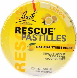 Rescue Pastilles Lemon 50gm