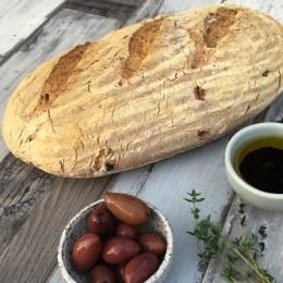 Olive & Thyme Vienna Sourdough 720gm (Unsliced)