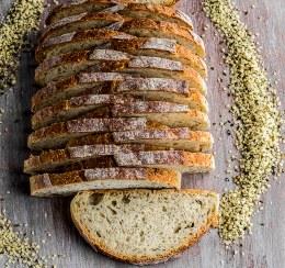 Hemp Seed Vienna Sourdough 720gm (Sliced)