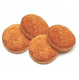 Gluten Free Paleo Almond Round Rolls 125gm (4 Pack)