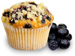 Muffin Blueberry