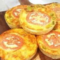 Gluten Free Frittata Mixed Vegetable