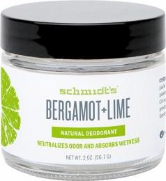 Deodorant Jar Bergamot & Lime 56gm