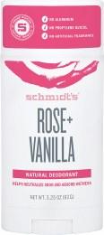 Deodorant Stick Rose & Vanilla 92gm