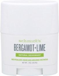 Travel Deodorant Stick Bergamot & Lime