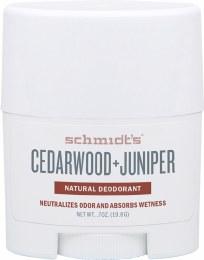 Travel Deodorant Stick Cedarwood & Juniper