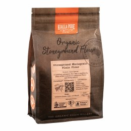 Organic Stoneground Wholegrain Plain Flour 1kg