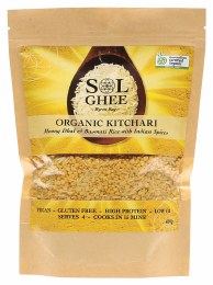 Organic Kitchari Moong Dhal & Basmati Rice Mix 400gm