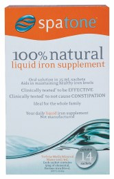 Spatone Liquid Iron Supplement Sachets 14x25ml