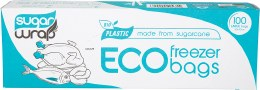 Eco Freezer Bags Made from Sugarcane - Large x100