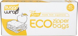 Eco Zip Lock Bags Made from Sugarcane - Small Sandwich x40