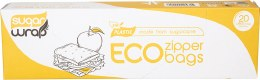 Eco Zip Lock Bags Made from Sugarcane - Large x20
