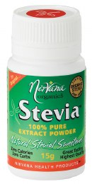 Stevia 100% Pure Extract Powder 15gm